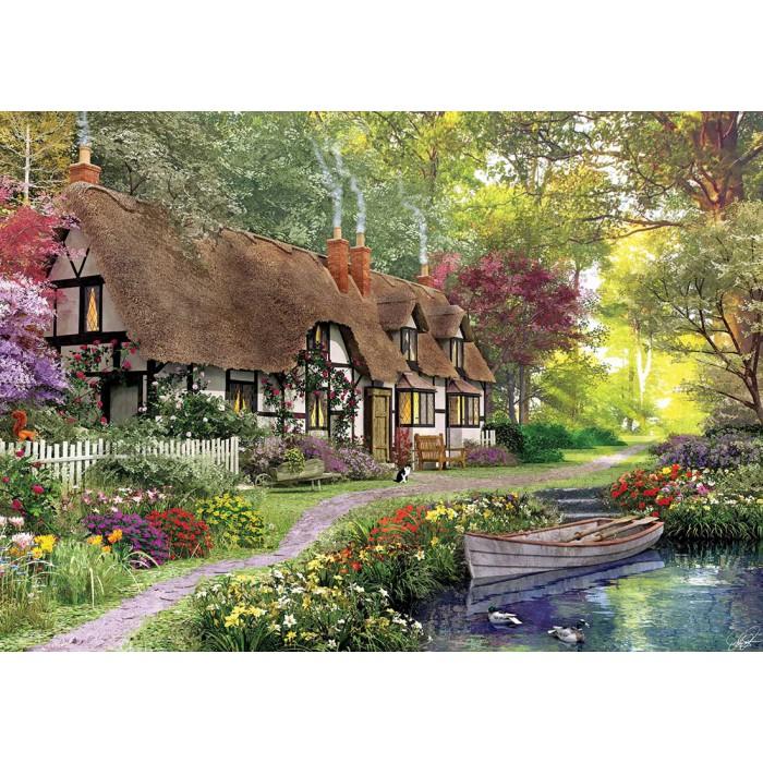Dominic Davison : Cottage sur le Chemin Forestier