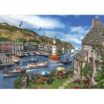 Puzzle  KS-Games-11386 Dominic Davison : The Village Harbour