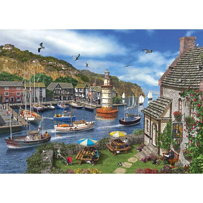 Dominic Davison : The Village Harbour