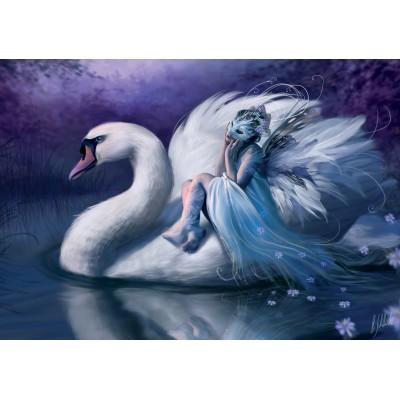 Puzzle KS-Games-22001 White Swan