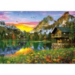 Puzzle   Alpine Lake