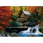 Puzzle   Katherine Hurtley - Autumn Chalet