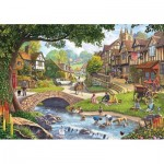 Puzzle   Summer Village Stream