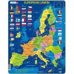 Larsen-A39-GB Puzzle Cadre - European Union (en Anglais)