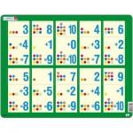 Larsen-AR12 Puzzle Cadre - Apprendre à Compter : L'Addition de 1 à 10