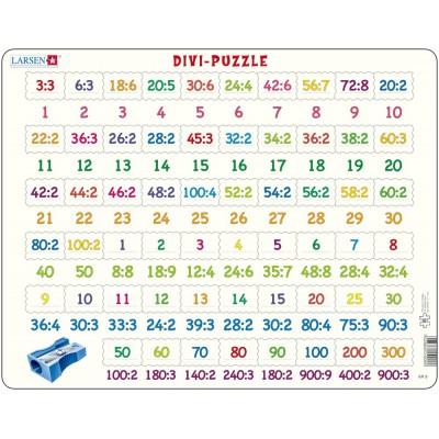 Larsen-AR9 Puzzle Cadre - Apprendre à Compter : La Division