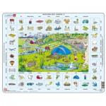 Larsen-EN4-NL Puzzle Cadre - Apprendre l'Anglais 4 : Les Vacances (en Néerlandais)