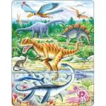 Larsen-FH16 Puzzle Cadre - Dinosaures