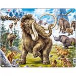Larsen-FH27 Puzzle Cadre - Les Mammouths