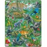 Larsen-FH41 Puzzle Cadre - Forêt Tropicale Africaine