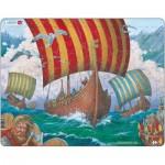 Larsen-FI6 Puzzle Cadre - Les Vikings