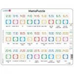 Larsen-GP5-NO Puzzle Cadre - MemoPuzzle (en Norvégien)