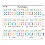 Larsen-GP5-SE Puzzle Cadre - MemoPuzzle (en Suédois)