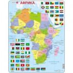 Larsen-K13-RU Puzzle Cadre - Afrique (en Russe)