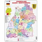 Larsen-K22-DE Puzzle Cadre - Bundesland : Baden Württemberg (en Allemand)