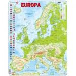 Larsen-K70-NL Puzzle Cadre - Europe (en Hollandais)