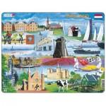 Larsen-KH10-NL Puzzle Cadre - Hollande