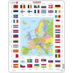 Larsen-KL1-DE Puzzle Cadre - Europe (en Allemand)