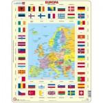 Larsen-KL1-NL Puzzle Cadre - Europa (en Hollandais)