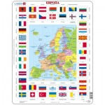 Larsen-KL1-RU Puzzle Cadre - Europe (en Russe)