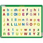 Larsen-LS14-ES Puzzle Cadre - ABC Alphabet (en Espagnol)