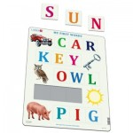 Larsen-LS40-GB Puzzle Cadre - My First Words (en Anglais)