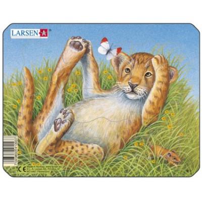 Larsen-M9-4 Puzzle Cadre - Léopardeau