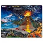 Larsen-NB2-IT Puzzle Cadre - I Vulcani (en Italien)