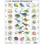 Puzzle Cadre - Dinosaures (en Hollandais)
