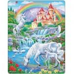 Puzzle Cadre - Licornes