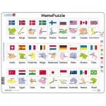Puzzle Cadre - MemoPuzzle (en Norvégien)