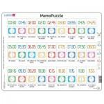 Puzzle Cadre - MemoPuzzle (en Tchèque)
