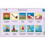 Larsen-RA07-EN-13-14 2 Puzzles Cadres - Apprendre l'Anglais : Read and Look 13-14 (en Anglais)