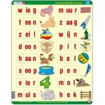 Larsen-SC12-NL Puzzle Cadre - Apprendre à lire le Néerlandais 2