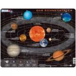 Larsen-SS1-DE Puzzle Cadre - Le Système Solaire (en Allemand)