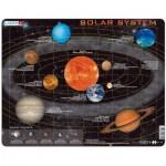 Larsen-SS1-GB Puzzle Cadre - Solar System (en Anglais)