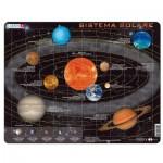 Larsen-SS1-IT Puzzle Cadre - Sistema Solare (en italien)