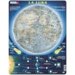 Larsen-SS5-ES Puzzle Cadre - La Luna (en Espagnol)