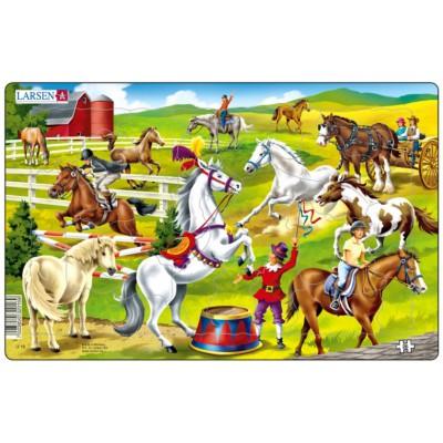 Larsen-U16-2 Puzzle Cadre - Au Centre Equestre