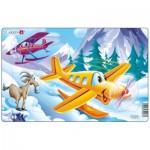 Larsen-U7-1 Puzzle Cadre - Avions dans la Montagne