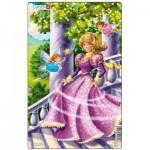 Larsen-U8-2 Puzzle Cadre - Princesse
