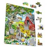 Larsen-US39 Puzzle Cadre - Apiculture