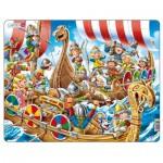 Larsen-US41 Puzzle Cadre - Vikings