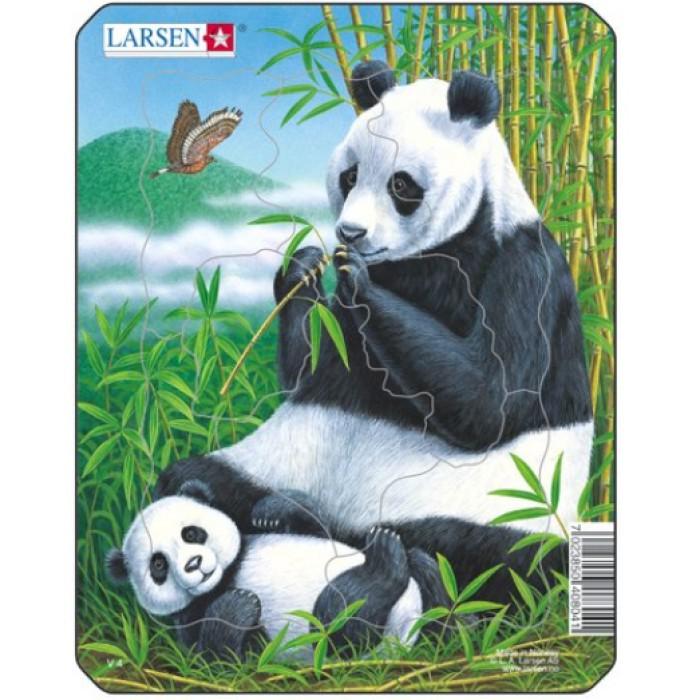Puzzle Cadre - Pandas