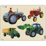 Larsen-X11 Puzzle Cadre - Tracteurs