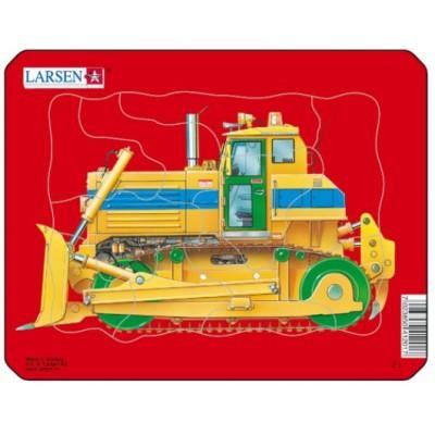 Larsen-Z1-3 Puzzle Cadre - Bulldozer