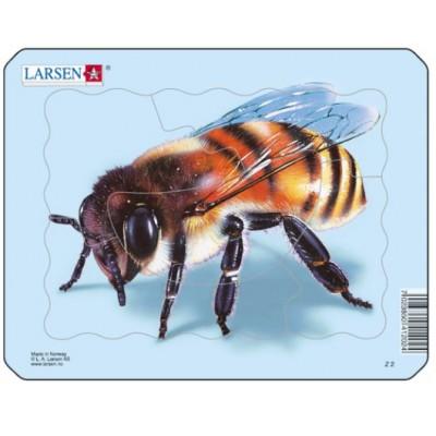 Larsen-Z2-2 Puzzle Cadre - Abeille