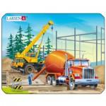 Larsen-Z3-2 Puzzle Cadre - Camion Toupie