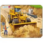 Larsen-Z3-3 Puzzle Cadre - Bulldozer