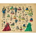 Schreiber-Bogen-588 Maquette en Carton : Kit de poupées Friedrich Wilhelm